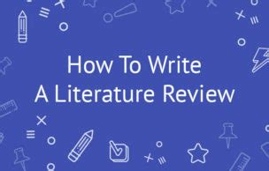 The Literature Review in Research and Dissertation Writing