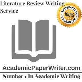 Problems with writing a literature review book